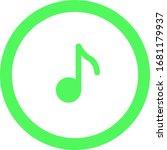 playback icon  vector...