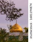 Small photo of The shrine of Sayyida Zainab bint Imam Ali, peace be upon him, in Damascus, Syria