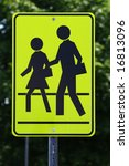 road sign.pedestrians. | Shutterstock . vector #16813096