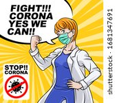 Fight Corona Virus  Yes We Can. ...