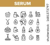 serum and cosmetic collection... | Shutterstock .eps vector #1681373797