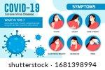 symptoms of corona virus... | Shutterstock .eps vector #1681398994