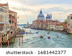 Venice  Italy. Traffic On The...
