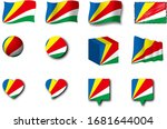 various designs of the...   Shutterstock . vector #1681644004