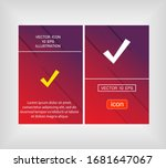 chec outline icon isolated on...