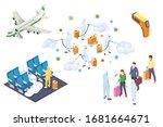 coronavirus infection... | Shutterstock .eps vector #1681664671