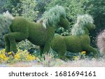 Topiary On A Large Scale. Full...