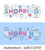 vector illustration of online... | Shutterstock .eps vector #1681713787
