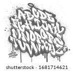 handwritten graffiti font...