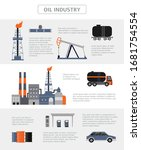 oil industry infographic... | Shutterstock .eps vector #1681754554