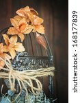 wedding decoration and birdcage | Shutterstock . vector #168177839