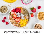 Strawberry Smoothie Bowl With...