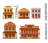 Wild West Buildings Set Store ...