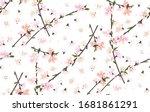 seamless background pattern of... | Shutterstock .eps vector #1681861291