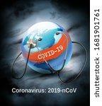 coranavirus pandemic background ... | Shutterstock .eps vector #1681901761