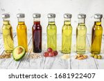 Assortment Of Vegetable Oils In ...