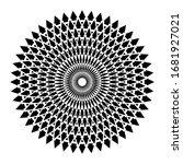 Abstract Decorative Geometric...