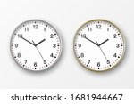 vector 3d realistic simple...   Shutterstock .eps vector #1681944667