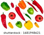a variety of various types of... | Shutterstock . vector #1681948621