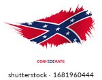 Flag Of Confederate  State In...