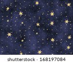 festive starry background | Shutterstock . vector #168197084