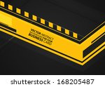 abstract business background  ... | Shutterstock .eps vector #168205487