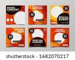 music concert festival banner... | Shutterstock .eps vector #1682070217