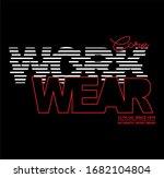 core work wear  stylish...   Shutterstock .eps vector #1682104804