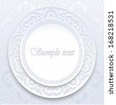 vintage background traditional... | Shutterstock .eps vector #168218531