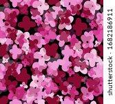 seamless pattern background... | Shutterstock .eps vector #1682186911