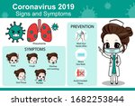 coronavirus cov infographics...   Shutterstock . vector #1682253844