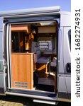 Open Side Door Vehicle Interior ...