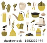 a set of garden tools and... | Shutterstock .eps vector #1682333494