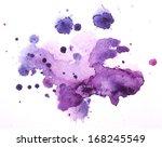 watercolour blots   Shutterstock . vector #168245549