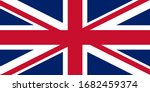 official british flag of the... | Shutterstock .eps vector #1682459374