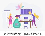 laundry service  ironing ...   Shutterstock .eps vector #1682519341