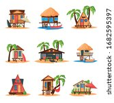 Collection Of Beach Bungalows...
