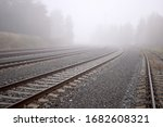 Several Train Rails Ending In...