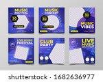 music concert festival banner...   Shutterstock .eps vector #1682636977
