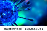 Image Of Flu Covid 19 Virus...