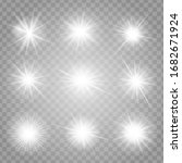bright shining stars collection ...   Shutterstock .eps vector #1682671924