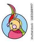 Papagei Bird Logo Modern...