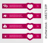 set of four infographics with...