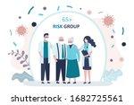 grandparents parents  is... | Shutterstock .eps vector #1682725561