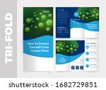 medical tri fold brochure... | Shutterstock .eps vector #1682729851