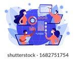 online medical conference ...   Shutterstock .eps vector #1682751754