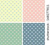 holiday romance pastel palette... | Shutterstock .eps vector #168277811