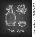 maple syrup. collection of... | Shutterstock .eps vector #1682806597