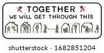 corona virus together we will... | Shutterstock .eps vector #1682851204