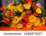 A Beautiful  Bright Bouquet Of...